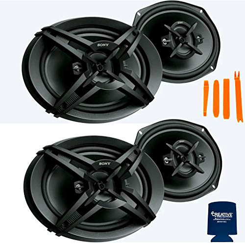 Sony Two Pairs XS-R6946 4-Way 6x9 Coaxial Speakers