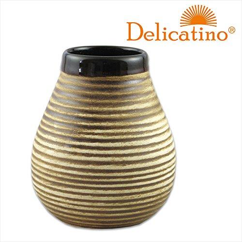 Mate Becher Mate Rustico Keramik braun