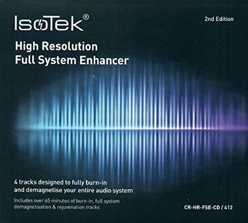 IsoTek Full System Enhancer CD Burn-in