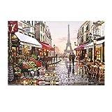 Waniyin 1000 Peices Bricolaje Rompecabezas For Adultos Y Niños De Madera Puzzle Juegos De Regalos Pintura Mural Juegos Educativos Juguetes 75X50cm (Color : B)