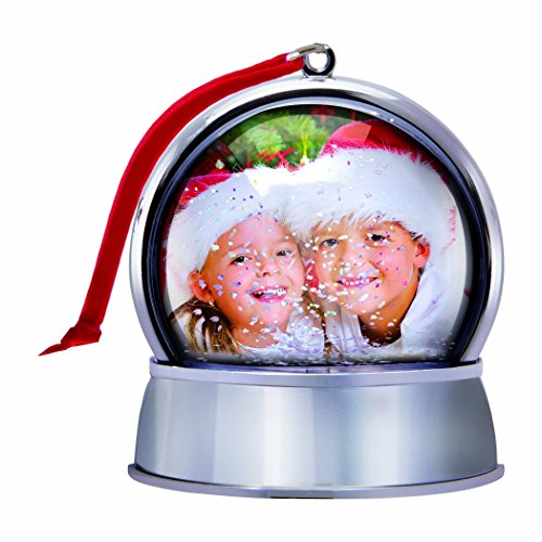 Personalized Picture Snow Globe with Magnet