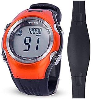 MIAOGOU Relojes Deportivos frecuencia Fitness Pulse Calories Monitor inalámbrico de frecuencia cardíaca Reloj Polar Digital Correr Ciclismo Correa para el Pecho Hombres Mujeres Reloj Deportivo