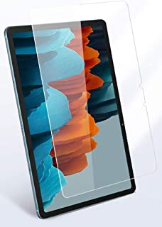 Al-HuTrusHi Samsung Galaxy Tab S7 Screen Protector, Premium 9H Hardness 2.5D Round Edge Tempered Glass Film Screen Protect...