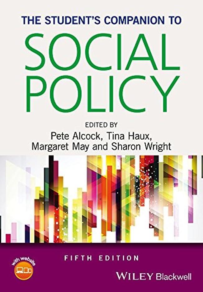 視聴者彼らのパートナーThe Student's Companion to Social Policy (English Edition)