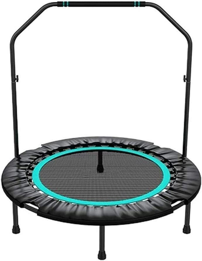Trampoline with Handrail Easy-to-use Our shop most popular Adults Exercise Mini Foldabl