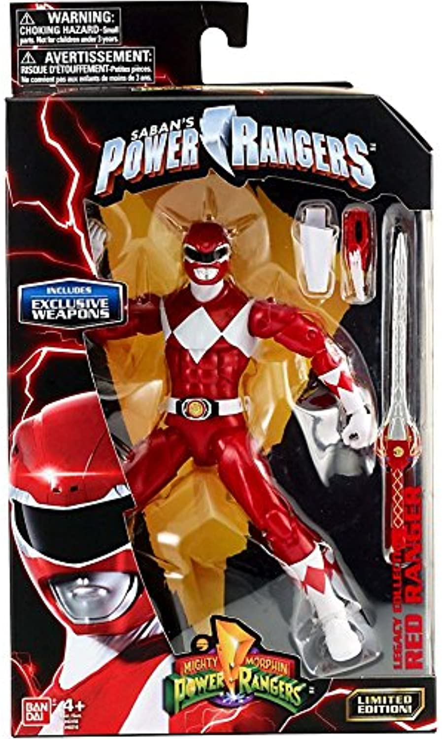 Legacy Rangers Power Morphin Mighty Collection Weapons