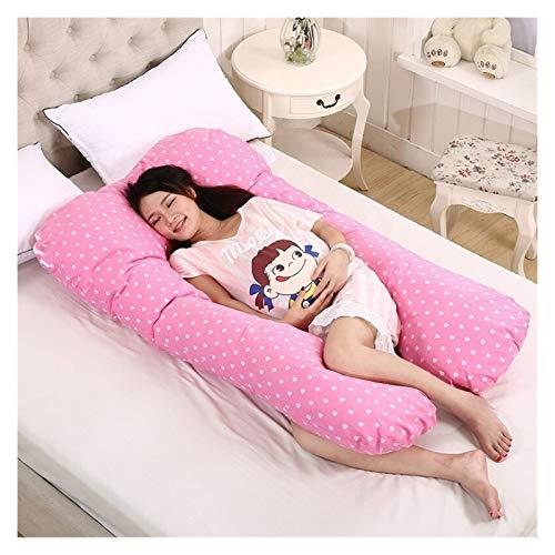 XXG Washable U Shape Pregnancy Pillow Side Sleeper Pregnant Women Bedding Cushion Long Sleeping Multifunctional Pillows Cushion & Pillow For Pregnant Women (Color : YYF014A 1)