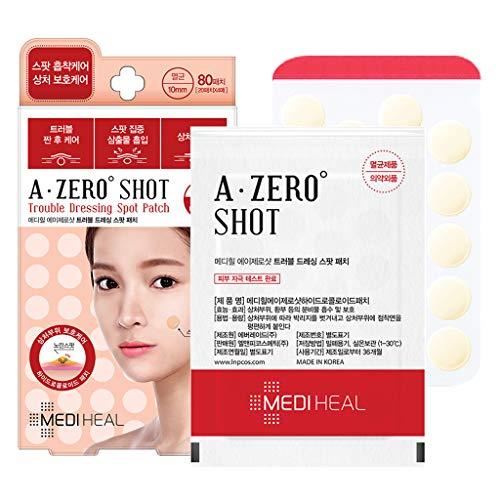 MEDIHEAL(メディヒール) A-zero Shot Trouble Dressing Spot Patch Clear Spot Patch