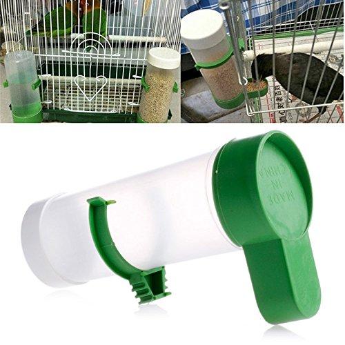 Autone Vogeltränke für Haustiere, Futter-/Wasser-Clip, für Wellensittiche, Wellensittiche, Käfig, heiß