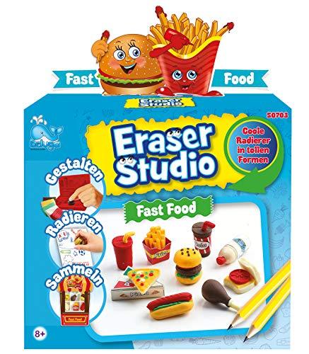 Beluga Spielwaren GmbH 50703 Eraser Radiergummi selbermachen Fast Food Radierer Spielzeug, Mehrfarbig