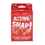 TOMY T73244EN Active Snap, Children Action, Preschool Kids Card Based Game for Boys & Girls 4 Years and Up
