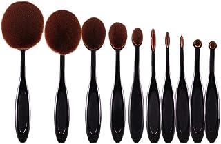 Gagafeel Gagafeel 10 Pieces Tooth Brush Shape Soft Makeup Brush Set Professional Face eye Shadow eyeliner Foundation Blush...