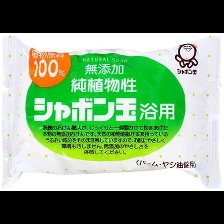 農村牛バス【まとめ買い】シャボン玉 無添加 純植物性 シャボン玉浴用石けん 純植物性 100g ×2セット
