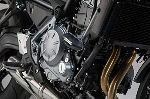 SW-MOTECH Sturzpad-Kit, Schwarz für Kawasaki Z650 (16-)