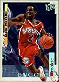 1996-97 Ultra #270 Allen Iverson RC Rookie NBA Basketball Trading Card Philadelphia 76ers. rookie card picture