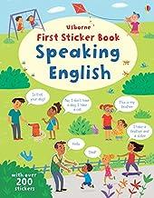 First Sticker Book Speaking English (First Sticker Books series)