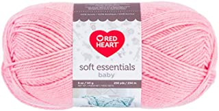 Red Heart Soft Essentials Baby Knitting & Crochet Yarn (Rosewater)