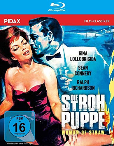 "Die Strohpuppe (Woman of Straw) / Legendärer Kriminalfilm mit ""James Bond""-Darsteller Sean Connery und Gina Lollobrigida (Pidax Film-Klassiker) [Blu-ray]"