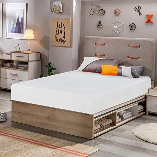 Memory Foam Mattress Twin Size,8 inch Gel Mattress for Cool Sleep Pressure Relief, Medium Firm Mattresses CertiPUR-US...