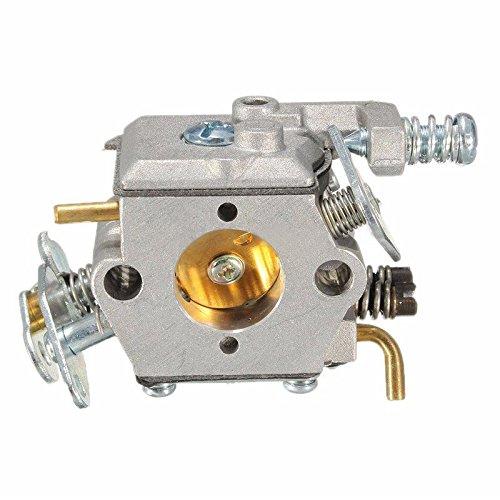 TOOGOO Nuevo carb carburetor para Poulan Sears Craftsman Chainsaw Walbro WT-89 891 plata
