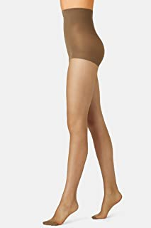 Voodoo Women's Pantyhose 15 Denier Shine Firm Control Sheer Tights (3 Pack)
