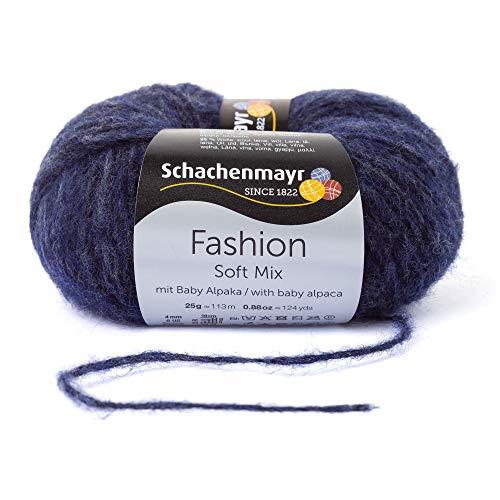 Schachenmayr Handstrickgarne Soft Mix, 25G Indigo