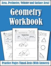 Area Perimeter And Volume: Geometry Workbook: Practice Pages Of Geometry For Kids & Beginners (With Answers) KS2-KS3 Maths