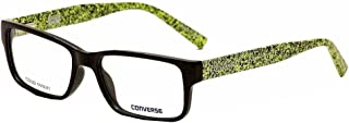 Converse Eyeglasses Q046 Q/046 Black Fashion Full Rim Optical Frame 52mm