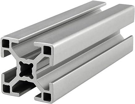 80//20 Inc 100mm x 4mm Aluminum Flat Stock 25 Series 25-8361 x 1220mm Long N