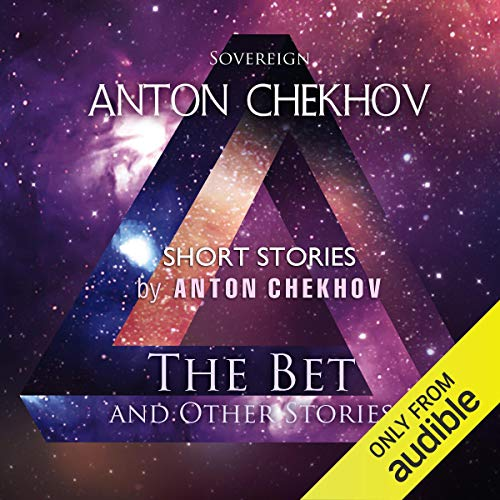 Short Stories by Anton Chekhov: Volume 7     The Bet and Other Stories              De :                                                                                                                                 Anton Chekhov                               Lu par :                                                                                                                                 Max Bollinger                      Durée : 1 h et 52 min     Pas de notations     Global 0,0