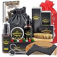 """【Bonus extra】Rispetto ad altre marche,il kit barba ZenNutt include uno """"Shampoo barba 2 fl oz / 60ml"""" extra e uno forma barba che può aiutarti e modellare la barba da solo.Il shampoo migliora la lucentezza e ha una formula a pH bilanciato progettata ..."""