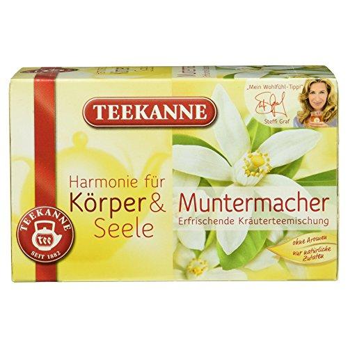 Teekanne Muntermacher Kräuterteemischung, 20 Beutel, 40 g