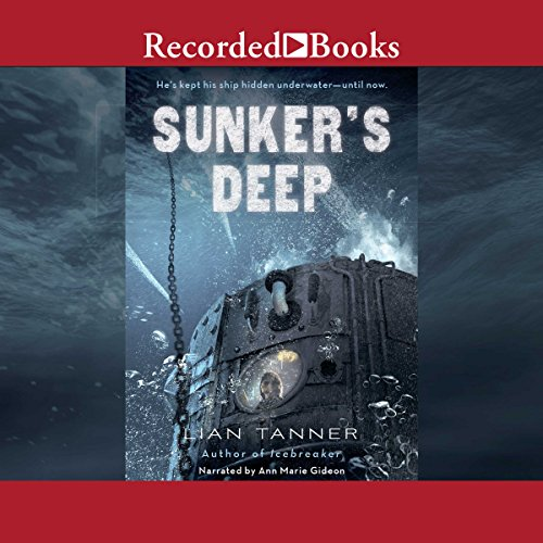 Sunker's Deep audiobook cover art