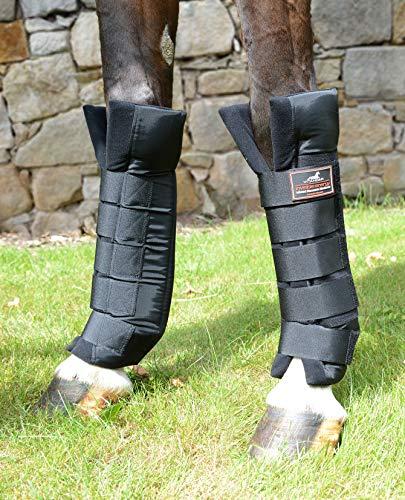 VITANDAR Therapeutische Stallgamaschen für Pferde mit Infraroteffekt, Extra Lang für Gelenksupport, 1 Paar, vorn, Gr. M