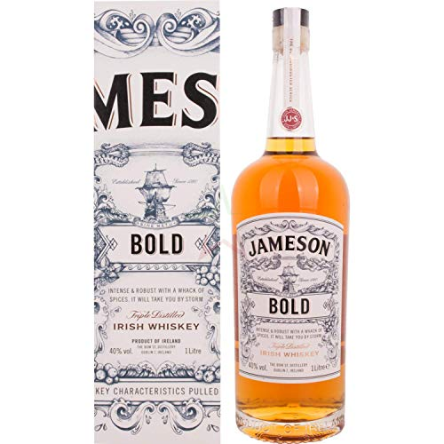 Jameson Bold Triple Distilled Irish Whiskey, 1 l