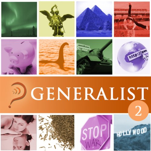 Generalist, Volume 2 cover art