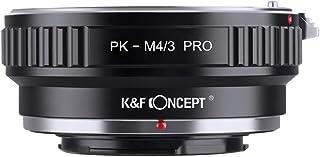 K&F Concept マウントアダプター Pentax PKレンズ-M4/3カメラ装着 PRO 艶消し仕上げ 反射防止 メーカー直営店