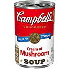Campbell's Condensed Cream of Mushroom Soup, 10.5 Ounce Can with Pop-Top Lid