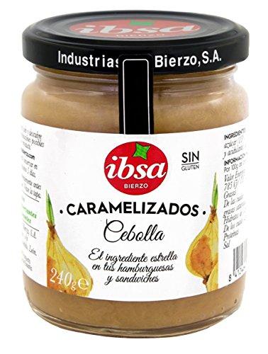 Ibsa Cebolla Caramelizada 240 g - Lot de 4 (8412464094129)
