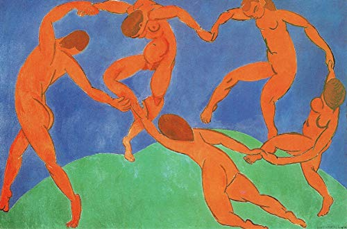 p5816 A2 Poster Henri Matisse Dance - Art Painting Movie Game Film - wall Gift Reproduction Old Vintage Decoration