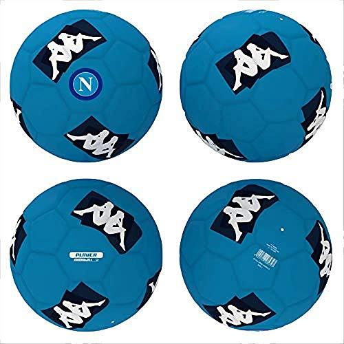 official product Kappa Mini Pallone Napoli da Calcio, Unisex - Adulto, Bianco/Blu a Scelta Size 2 (Bianco)