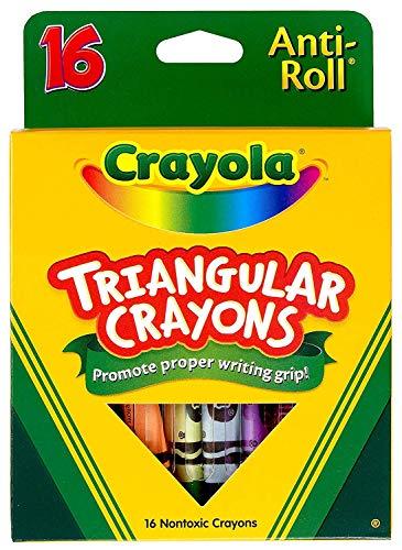 Crayola 16ct Triangular Crayons, 24 PACK