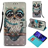 Beaulife Coque pour Huawei Mate 20 Lite Coque Silicone Full Body Cover Cuir Folio Magnétique Flip...