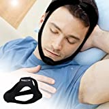 BMBZON Anti Snore Chin Strap,Adjustable Stop Snoring Chin Strap,Reduce sleep stress,Healthy and comfortable sleep assistant for you (FERW)