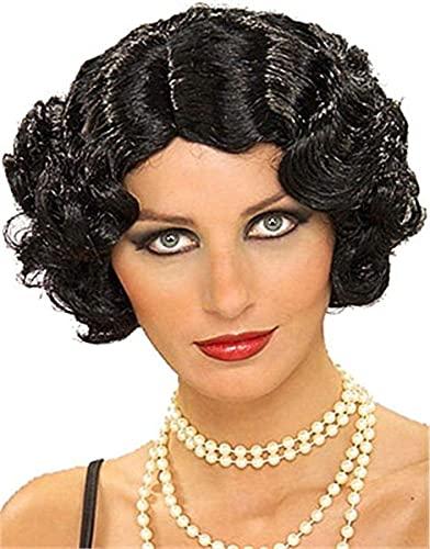 Forum Novelties womens Flapper Costume Wig, Black,...