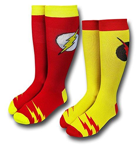 Flash & Reverse Flash Crew Calcetín 2-Pair Pack