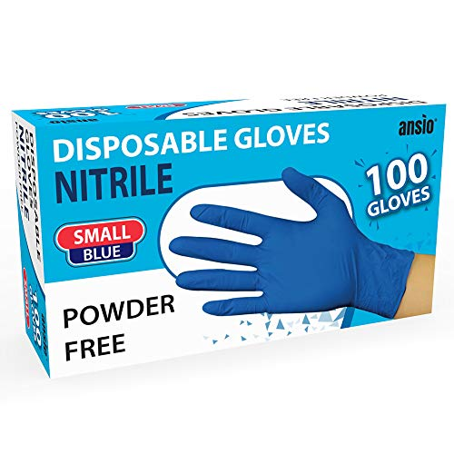 Nitrile Gloves Blue Powder free ...