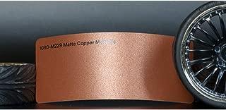 3M 1080 Matte Copper Metallic | M229 | Vinyl CAR WRAP Film (Sample 2.5in x 4in)
