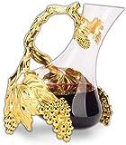 Whiskey decanter vino decantador vino decantador creativo personalidad vino libre de vidrio decantador continental francés cristal vino hogar lujo decantador multicolor opcional 1000ml vino decantador