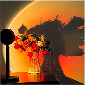 Easeking Sunset Red LED Projection Floor Lamp